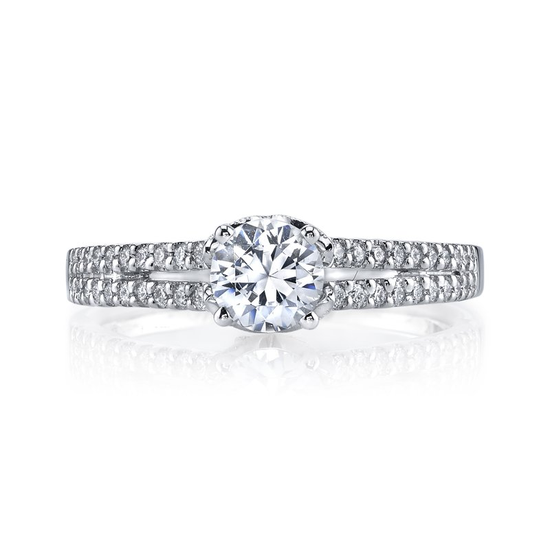MARS Jewelry MARS 25813 Diamond Engagement Ring 0.25 Ctw.