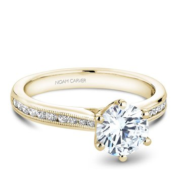 Noam Carver Vintage Engagement Ring B145-17YA