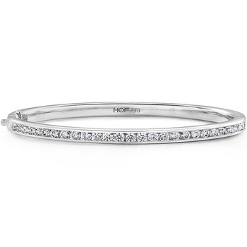 HOF Classic Channel Set Bangle - 270