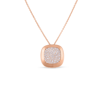 18Kt Gold Small Pendant With Diamonds