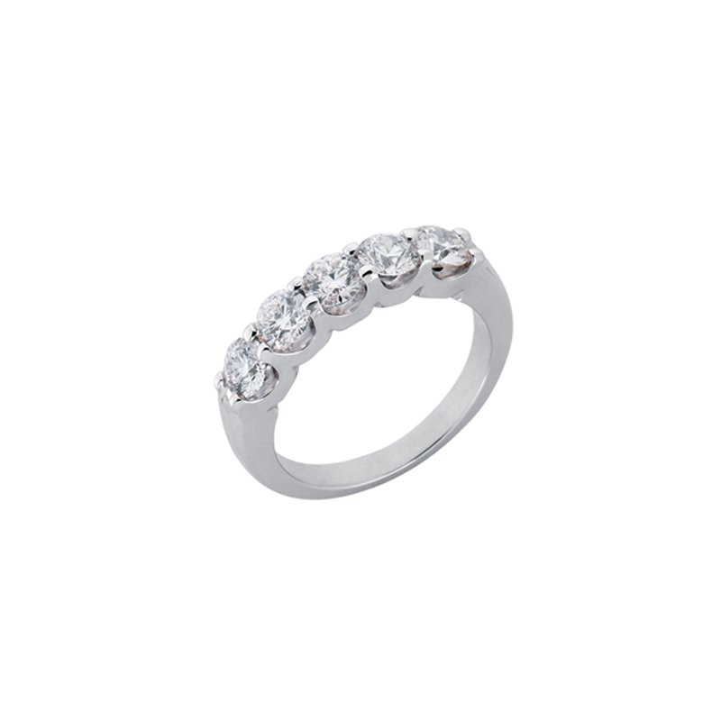 S. Kashi & Sons Bridal Diamond Band Five Stone