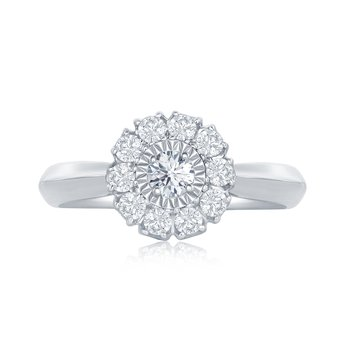 ROUND MIRACLE FLOWER RING