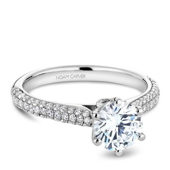 Noam Carver Vintage Engagement Ring B146-17A