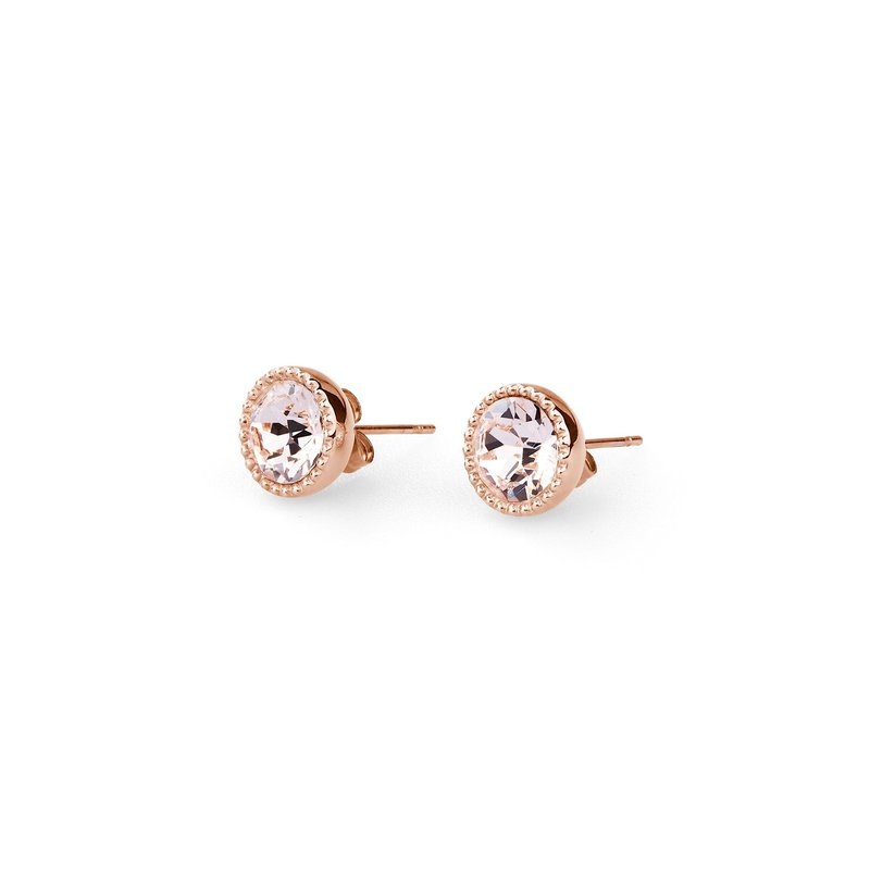 Brosway 316L stainless steel, rose gold pvd and silk Swarovski® Elements crystals.