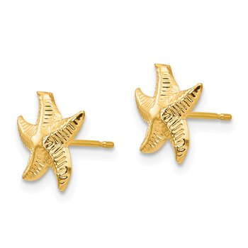14k Madi K Starfish Post Earrings
