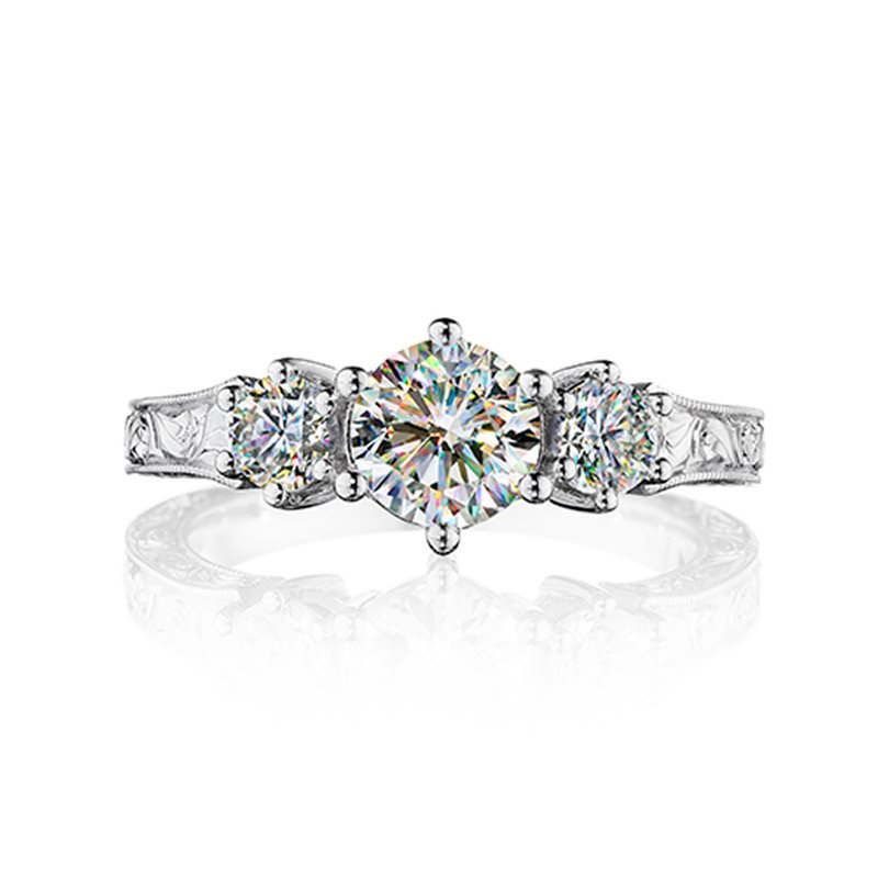 Fire Polish Diamonds Engagement Ring 1 1/2 CTTW