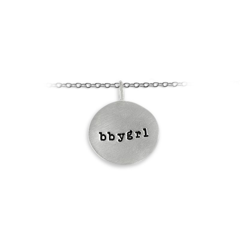 Slate & Tell 20mm Round Tag Charm