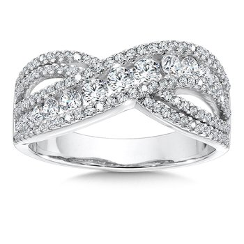 Diamond Ring in 14K White Gold (2 ct. tw.)
