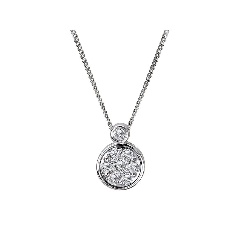 Radiance Diamond Slide Pendant