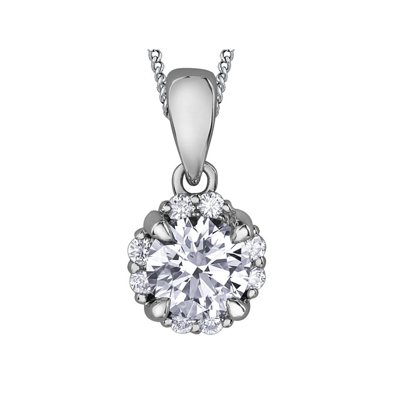 I Am Canadian Diamond Pendant