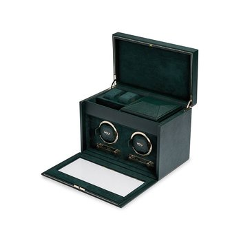 British Racing Green Double Winder