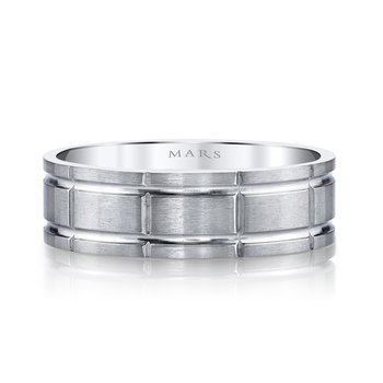 MARS G129 Men's Wedding Band