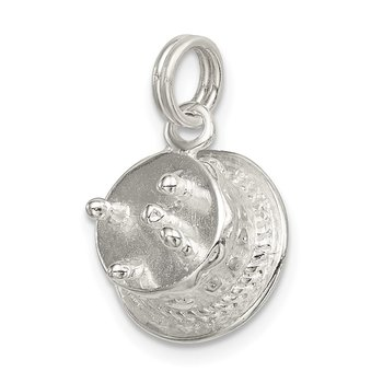 Sterling Silver Happy Birthday Cake Charm