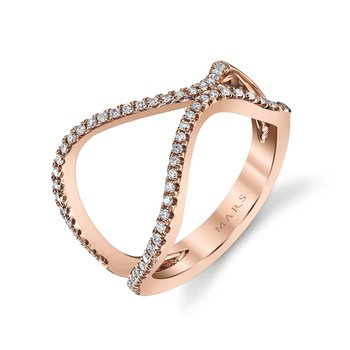 MARS 26715 Fashion Ring, 0.22 Ctw.