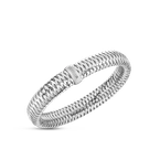 Roberto Coin Flexible Bangle &Ndash; 18K White Gold
