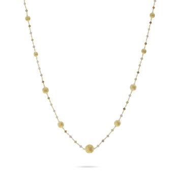 Africa Stellar Rough Diamond Bead Necklace
