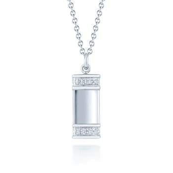 Kwiat Diamond Tag Pendant