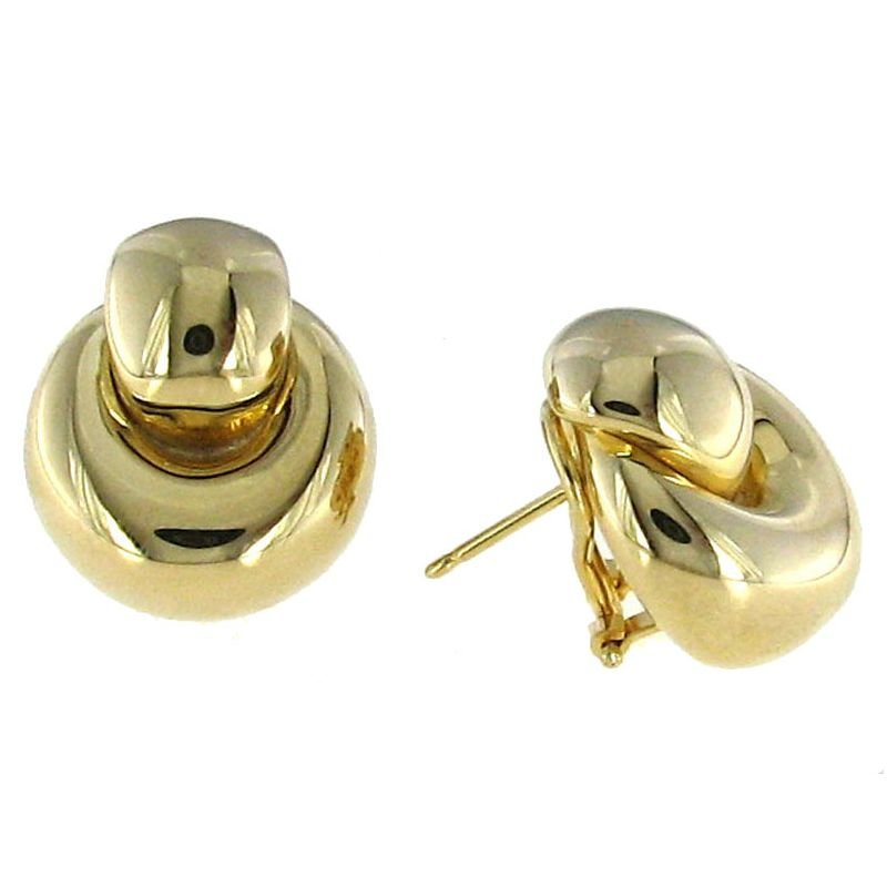 Roberto Coin 18Kt Gold Door Knocker Earrings