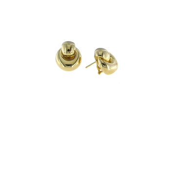 18Kt Gold Door Knocker Earrings