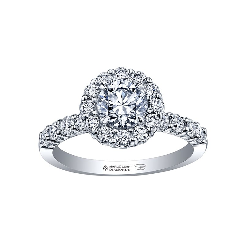 Maple Leaf Diamonds Maple Leaf Diamond,Seasons™ by Shelly Purdy, Ladies Engagement Ring