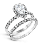 Simon G MR2906 WEDDING SET
