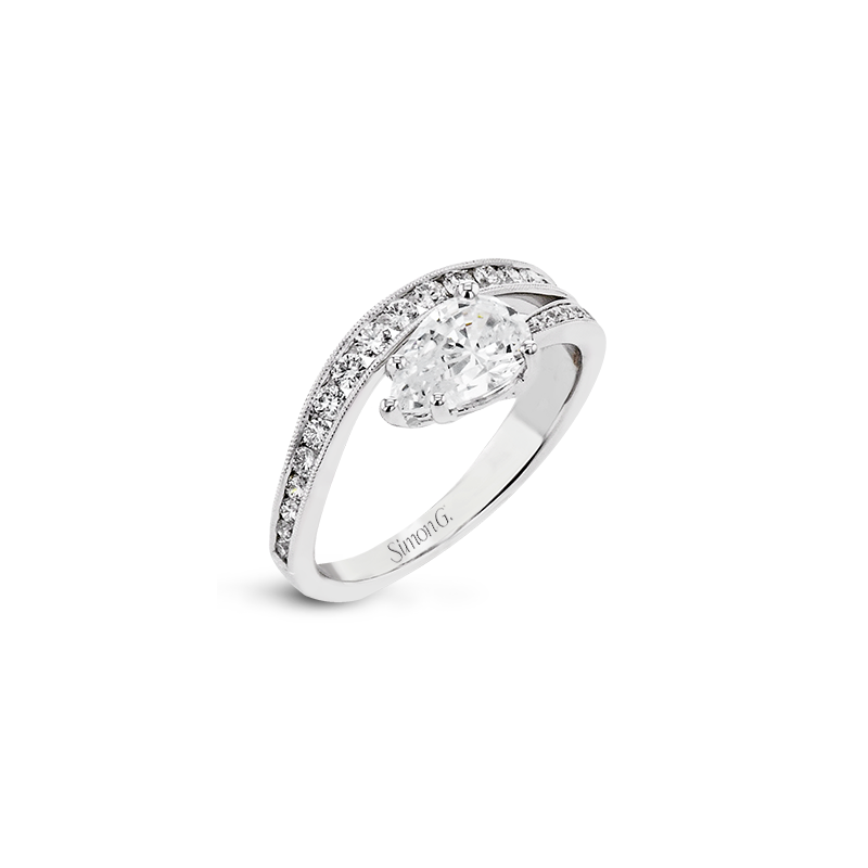 Simon G LR2824 ENGAGEMENT RING
