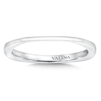 Valina 14K White Gold Wedding Band (0.01 ct. tw.)