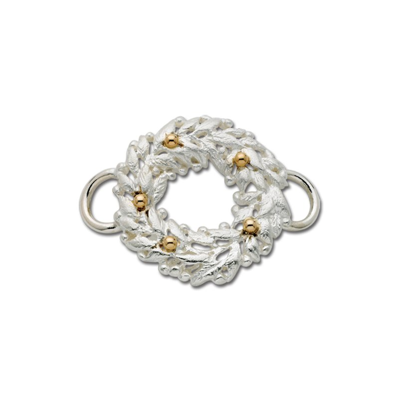 Lestage Wreath  Convertible Clasp