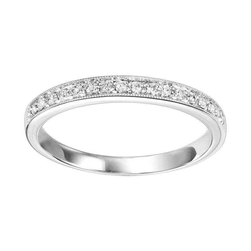Mixables 10K Diamond Mixable Ring 1/8 ctw