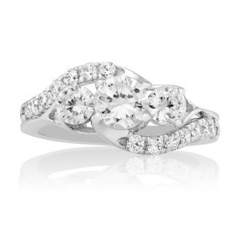 WS - The Countessa Three Stone Ring