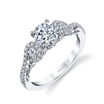 Diamond Engagement Ring, 0.63 ct tw
