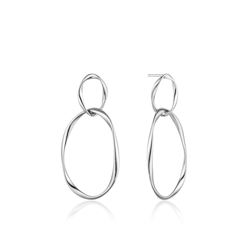 Ania Haie Swirl Nexus Earrings