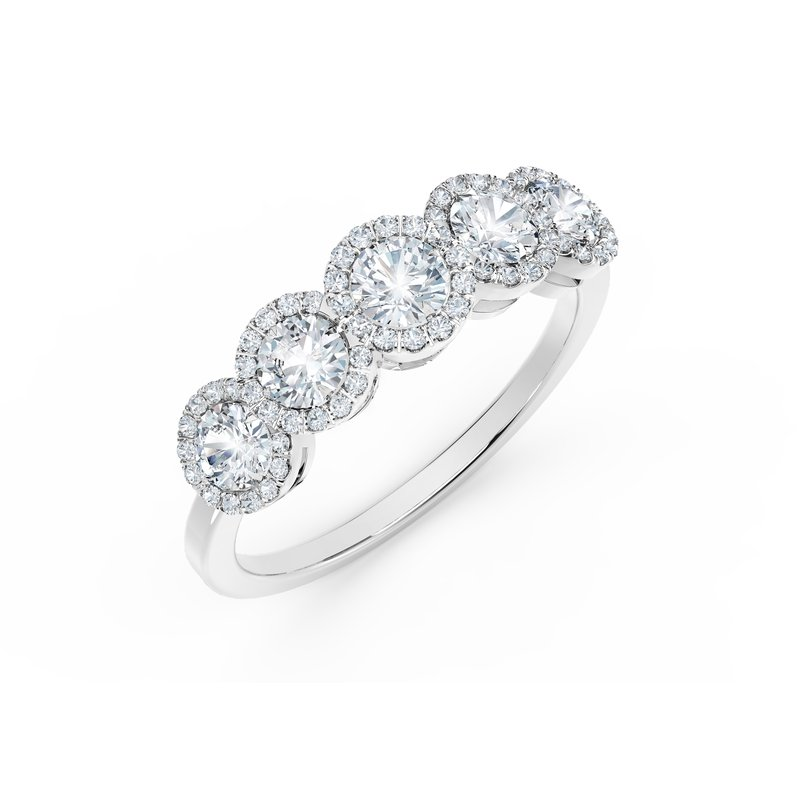 Forevermark The Forevermark Tribute™ Collection Diamond Wedding Band