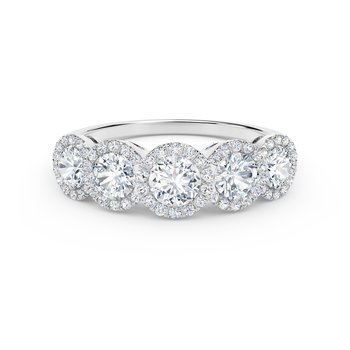 The Forevermark Tribute™ Collection Diamond Wedding Band