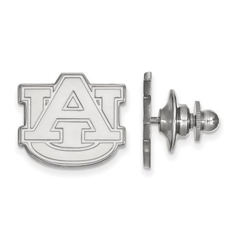 Sterling Silver Auburn University NCAA Lapel Pin