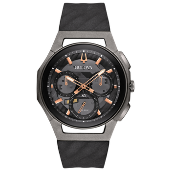 Bulova Curv - The World's First Curved Chronograph Movement