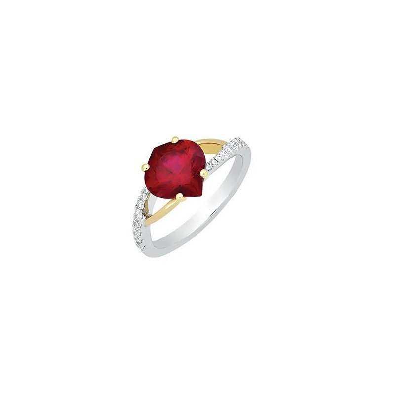 Chatham Ruby Ring-CR8212YWRU
