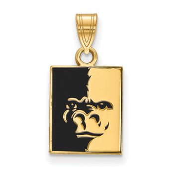 Gold-Plated Sterling Silver Pittsburg State University NCAA Pendant