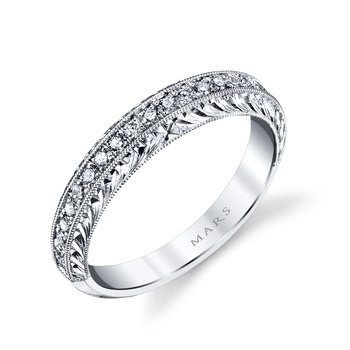 13010B Diamond Women's Wedding Band 0.23 ct tw
