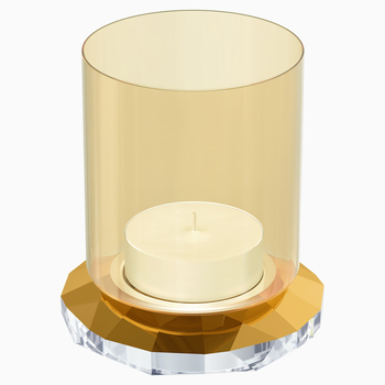 Allure Tea Light, Gold Tone