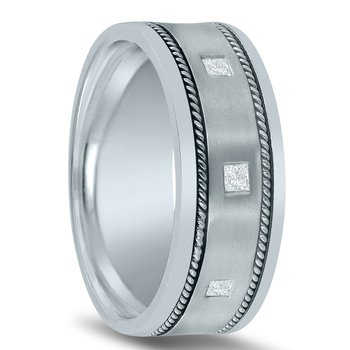 Men's 3/8 Carat Diamond Wedding Band ND01815 by Novell