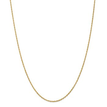 18K Leslie's 1.3mm Baby Rope Chain