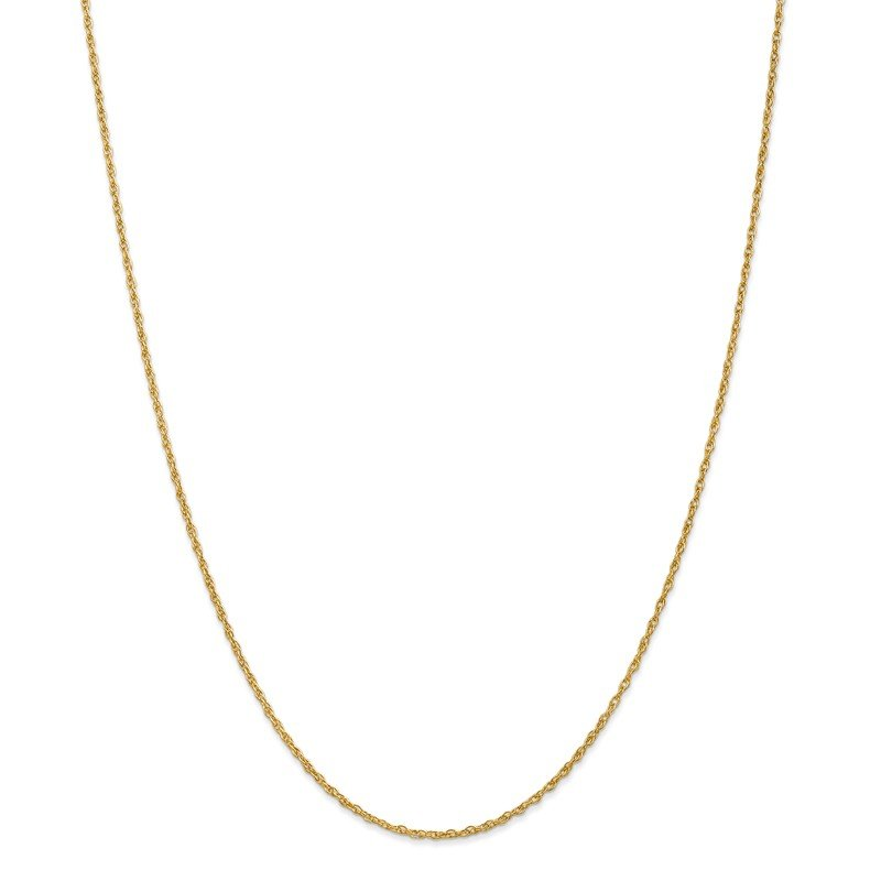 Leslie's 18K Leslie's 1.3mm Heavy-Baby Rope Chain