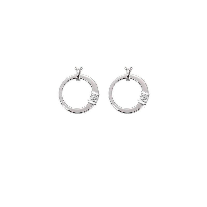 Roberto Coin Cento Medium Signature Earrings