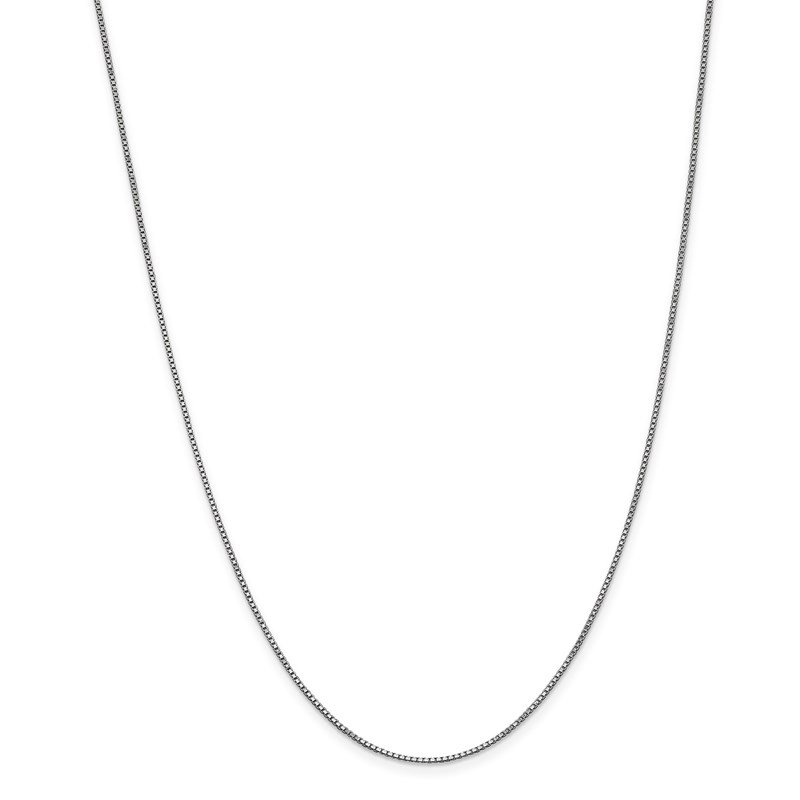 Leslie's Leslie's 14K White Gold 1mm Box Chain