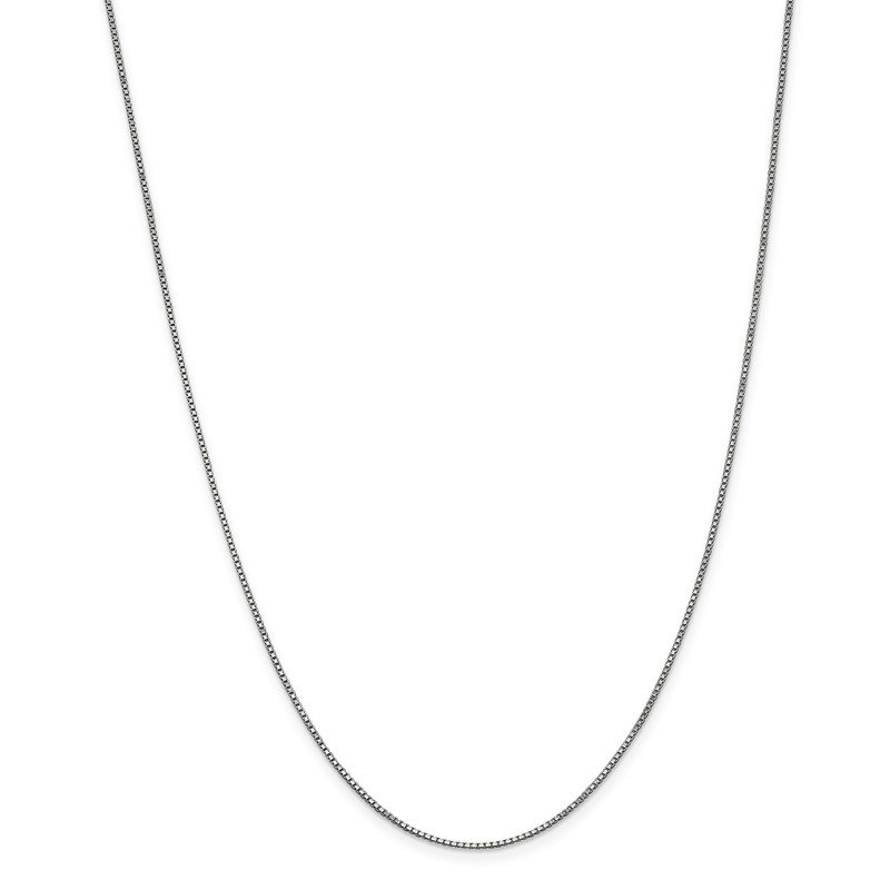 Leslie's Leslie's 14K White Gold 1 mm Box Chain