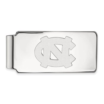 Gold University of North Carolina NCAA Money Clip