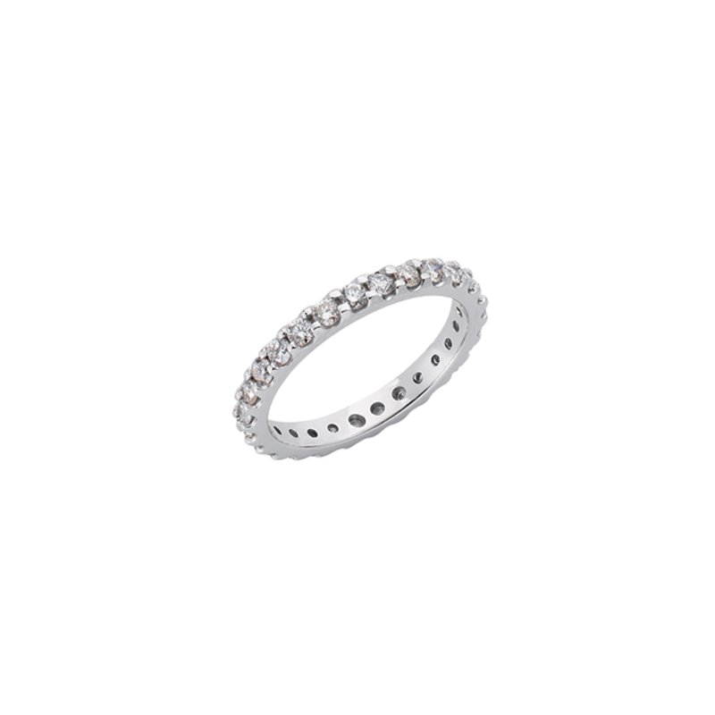 S. Kashi & Sons Bridal Eternity White Gold Band