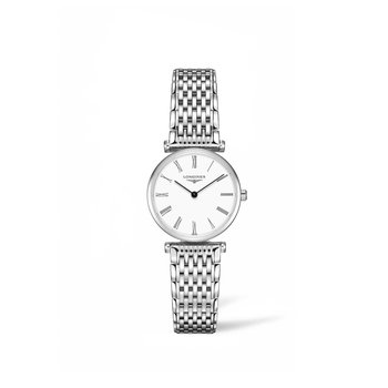 Longines La Grande Classique White Dial Ladies Watch