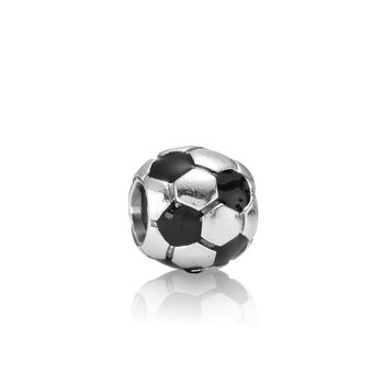 Soccer Ball, Black Enamel